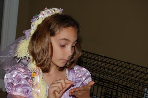 Rapunzel, Halloween
