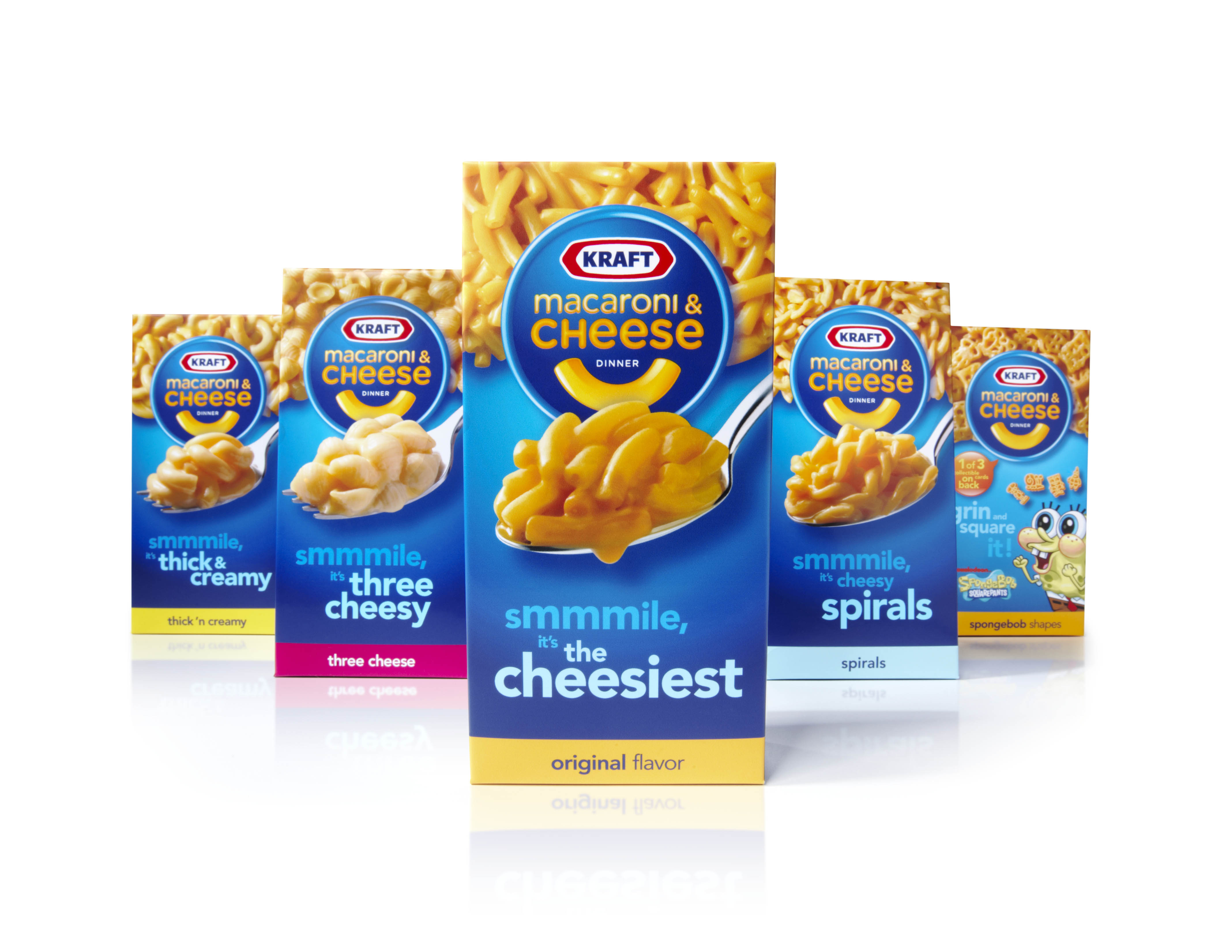 ... the bewildering varieties of Kraft Macaroni and Cheese now available