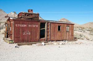 Abandoned caboose