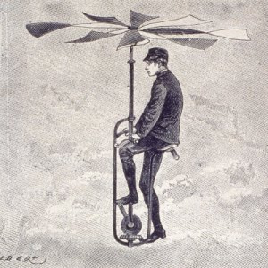 velocipede, aerial