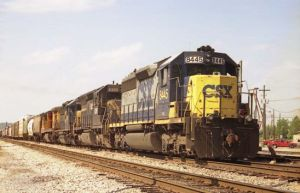 CSX Freight Train