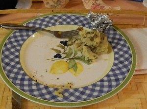 Rice, Chicken dinner, left over food