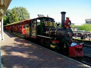 Disneyland, steam train