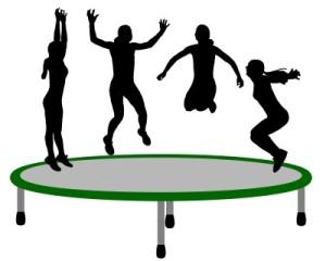 trampoline, Olympic trampoline