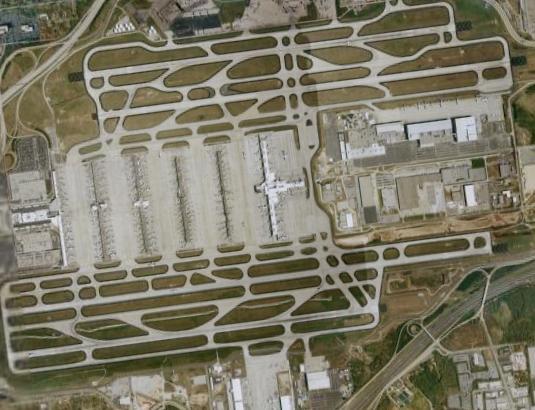 Aerial, Atlanta Airport