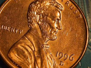 United States coinage penny