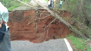 Road Washout