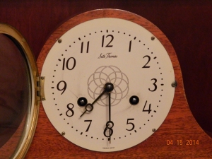 Seth Thomas Mantel Clock Face