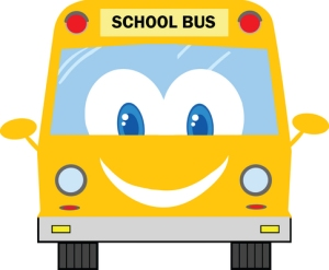 Bus, happy, smiling