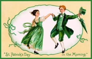 Jig, Irish, dancing