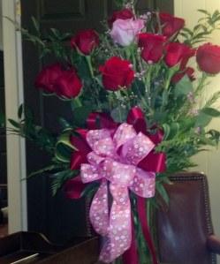 Roses, Dozen Roses, Flower Arrangement