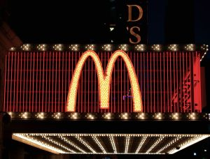 Golden Arches, McDonald's, Time Square