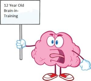 12 year old brain in training