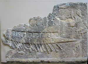 Assyrian War Ship