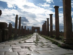Roman Road Algeria
