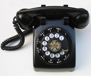 1950 Rotary Dial Phone
